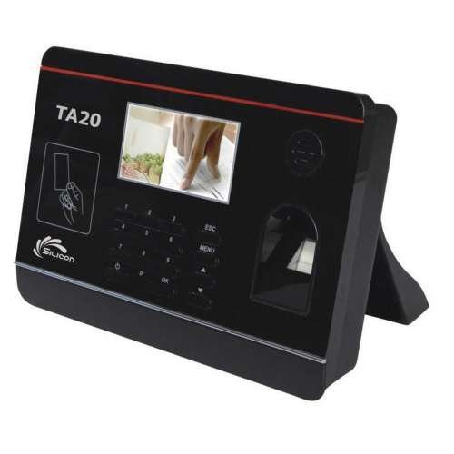 Silicon Fingerprint Time Recorder Machine TA20