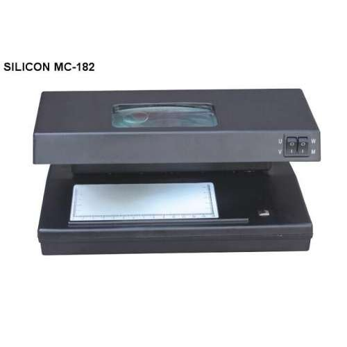 Silicon UV, MG Counterfeit Money Detector Machine MC-182