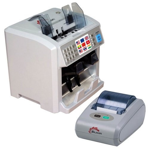 Silicon money counting machine – New generation MC-8Plus (Combo)