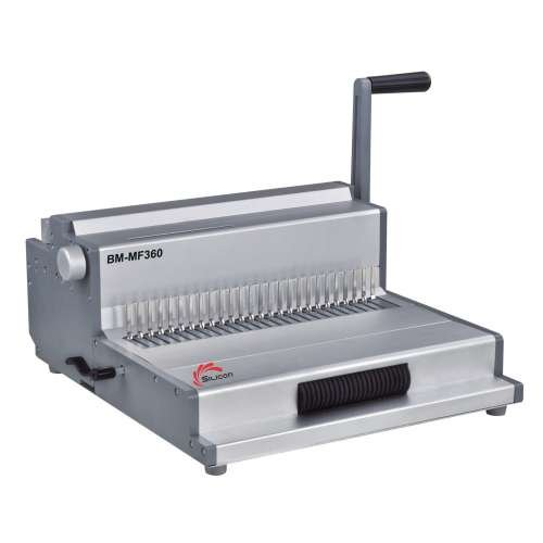 Silicon Multinational Binding Machine BM-MF360